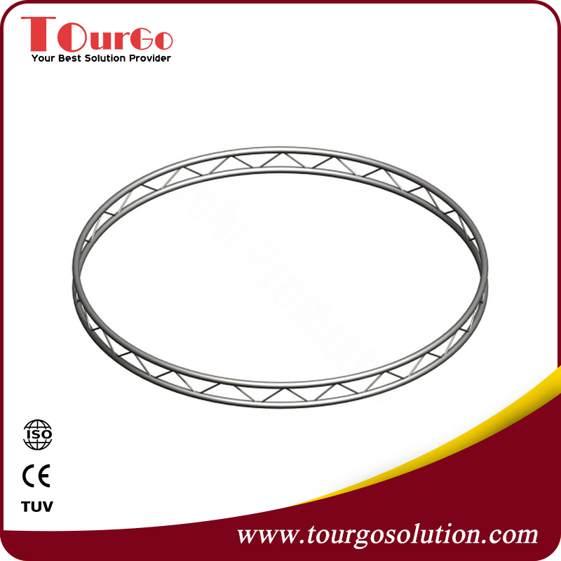 Aluminium Flat Circular Truss for Lighting Diameter 2m