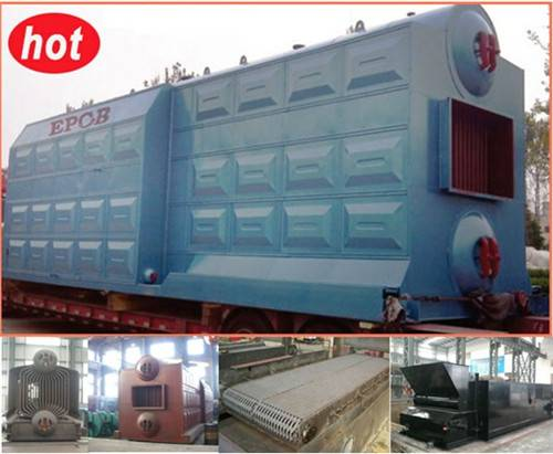 Industrial coal water tube boiler