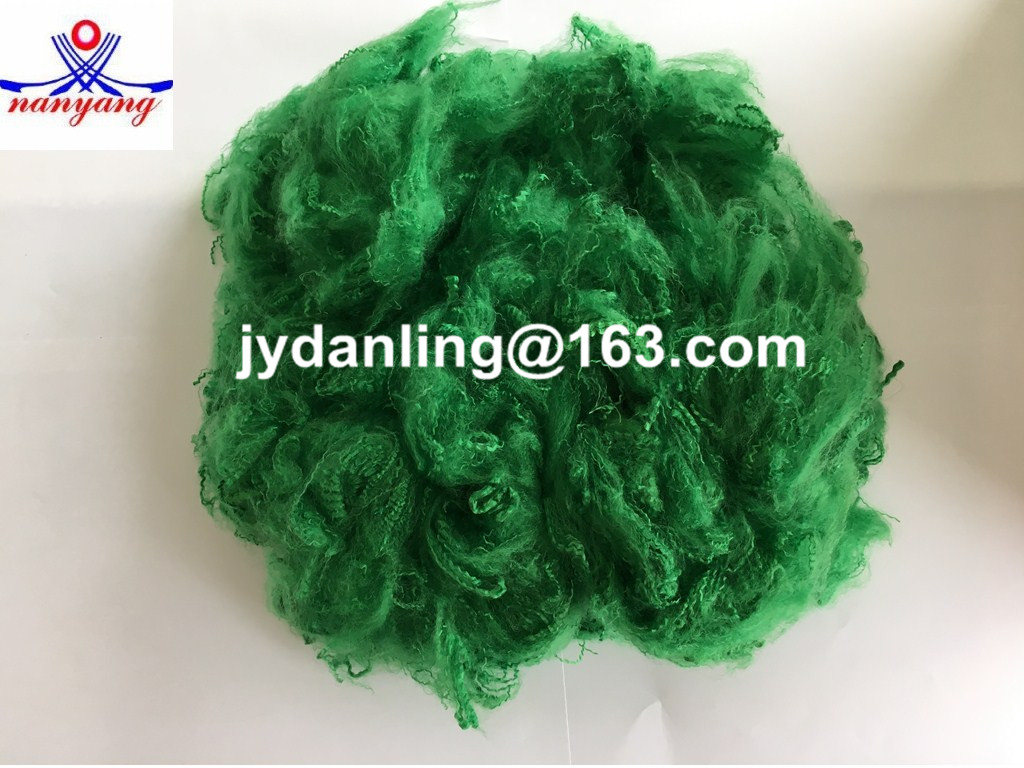 3D44mm Recycled Grade Dyed Pattern PSF Polyester Staple Fiber