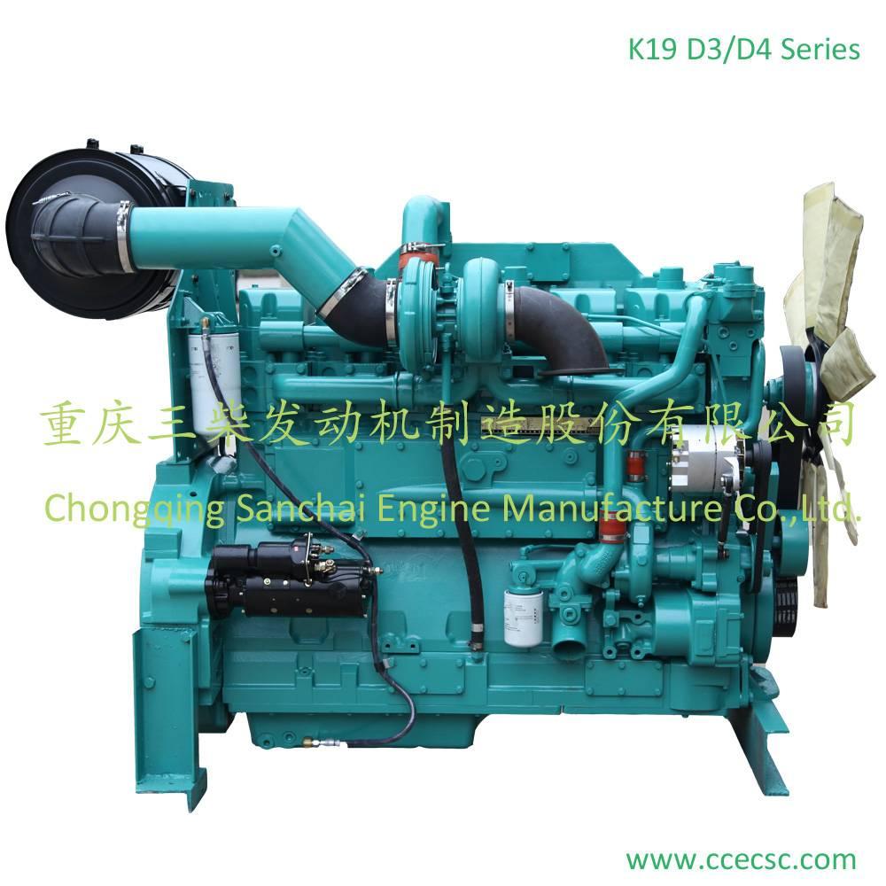 Sanchai Cummins KTA19-G Series Diesel Engine