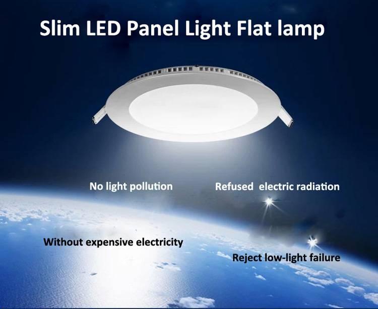 6W/9W/12W/15W/18W led panel lighting ceiling light DownlightAC85-265V, ,Warm /Cool white,indoor ligh