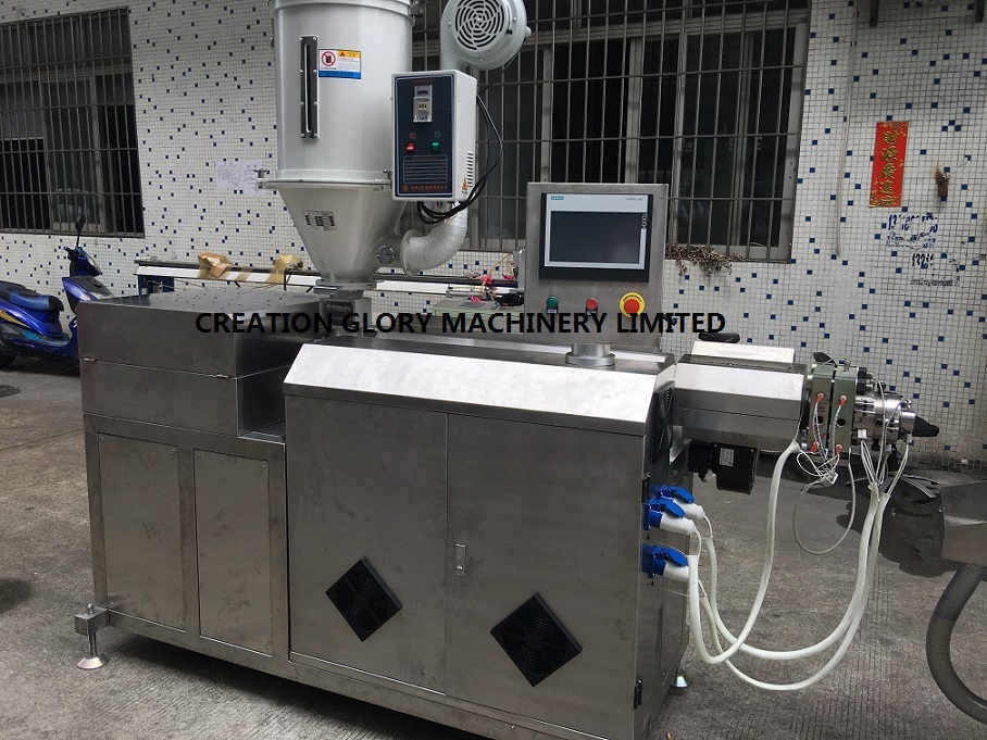 High quality central venous catheter medical pipe plastic extrusion machine