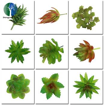 craft adorable artificial plastic succulent plants