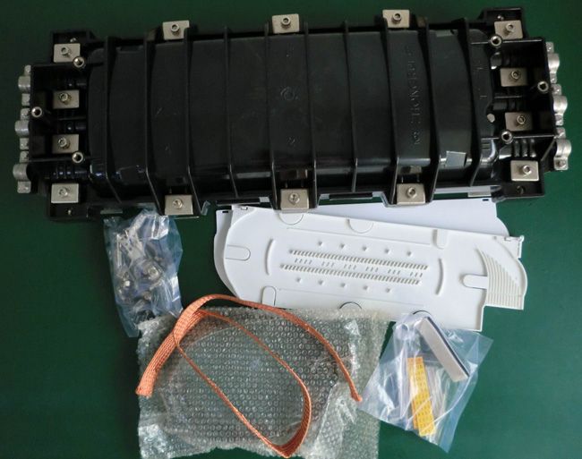 STP106H-1 Horizontal Fiber Optic Splice Closure