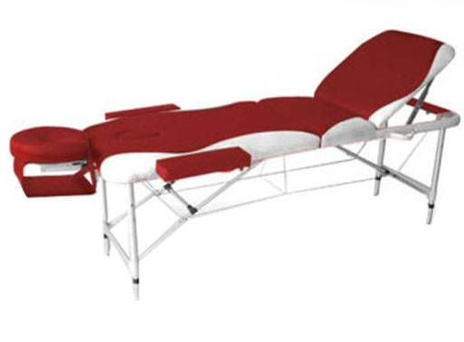 NHW15 Two-section folding portable wooden massage table