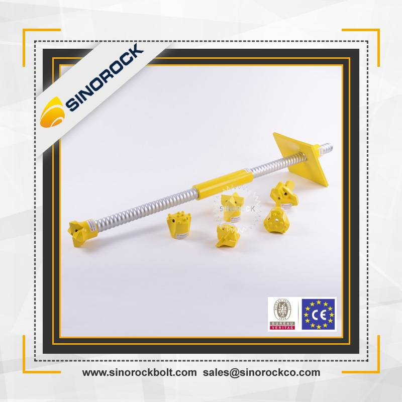 SINOROCK R38N drill rock mining self drilling anchor bolts