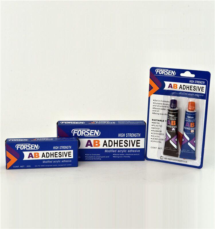 Fast Curing Modified Acrylic AB Glue 80g/set