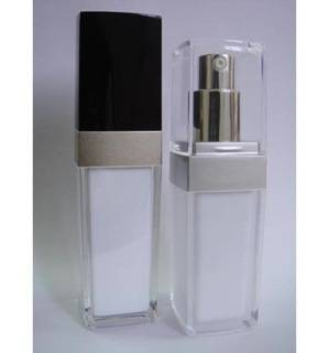 Plastic Square Arched Lotion Bottle - Stock Items