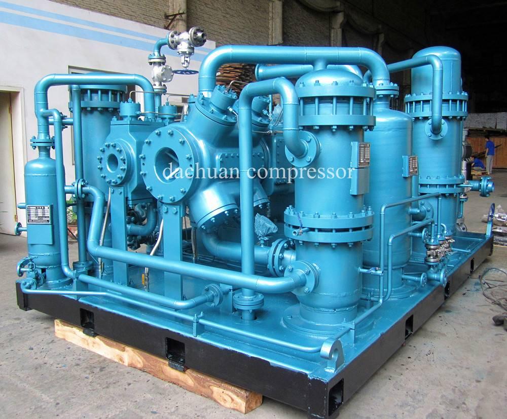 Cycling hydrogen compressor