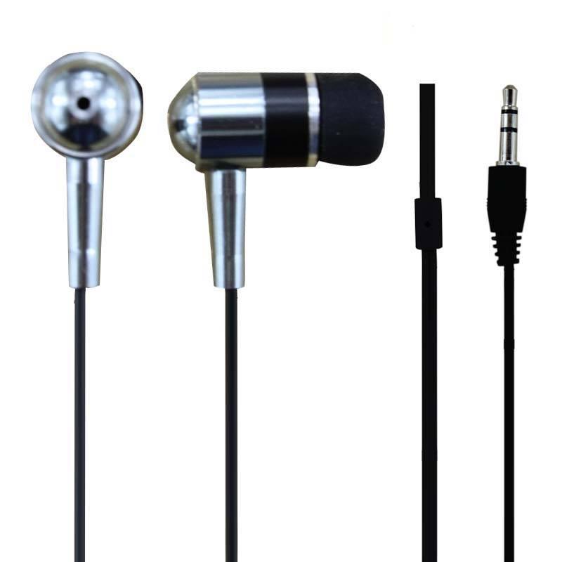 Super bass metal in ear earphone
