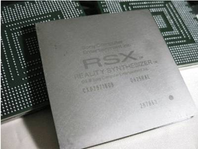 PS3 gpu RSX Reality synthesizer CXD 2971BGB