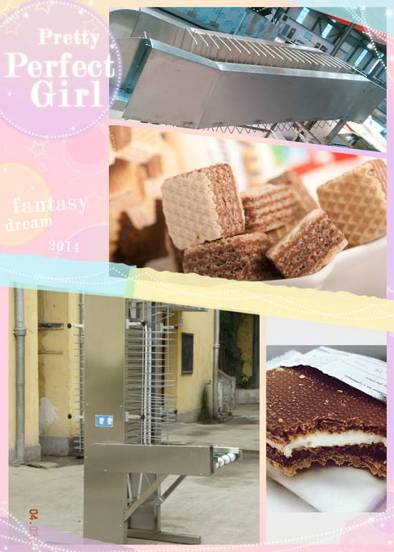 SH-3 factory sell wafer biscuit  food machine