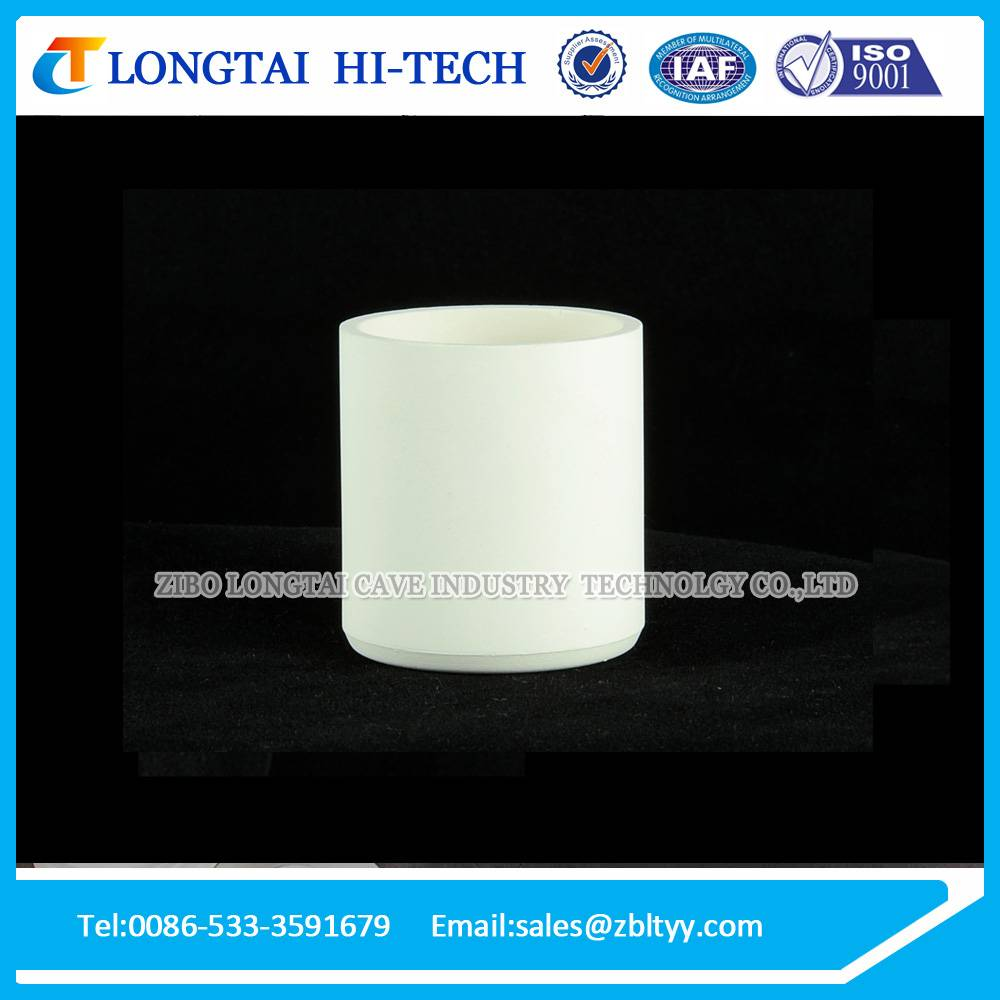 High Pure Zirconia Crucible Pot For Melting Rare Metal