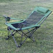 Simple fishing Chair, Deck Chair, steel folding Chair with mesh folding Adjustable