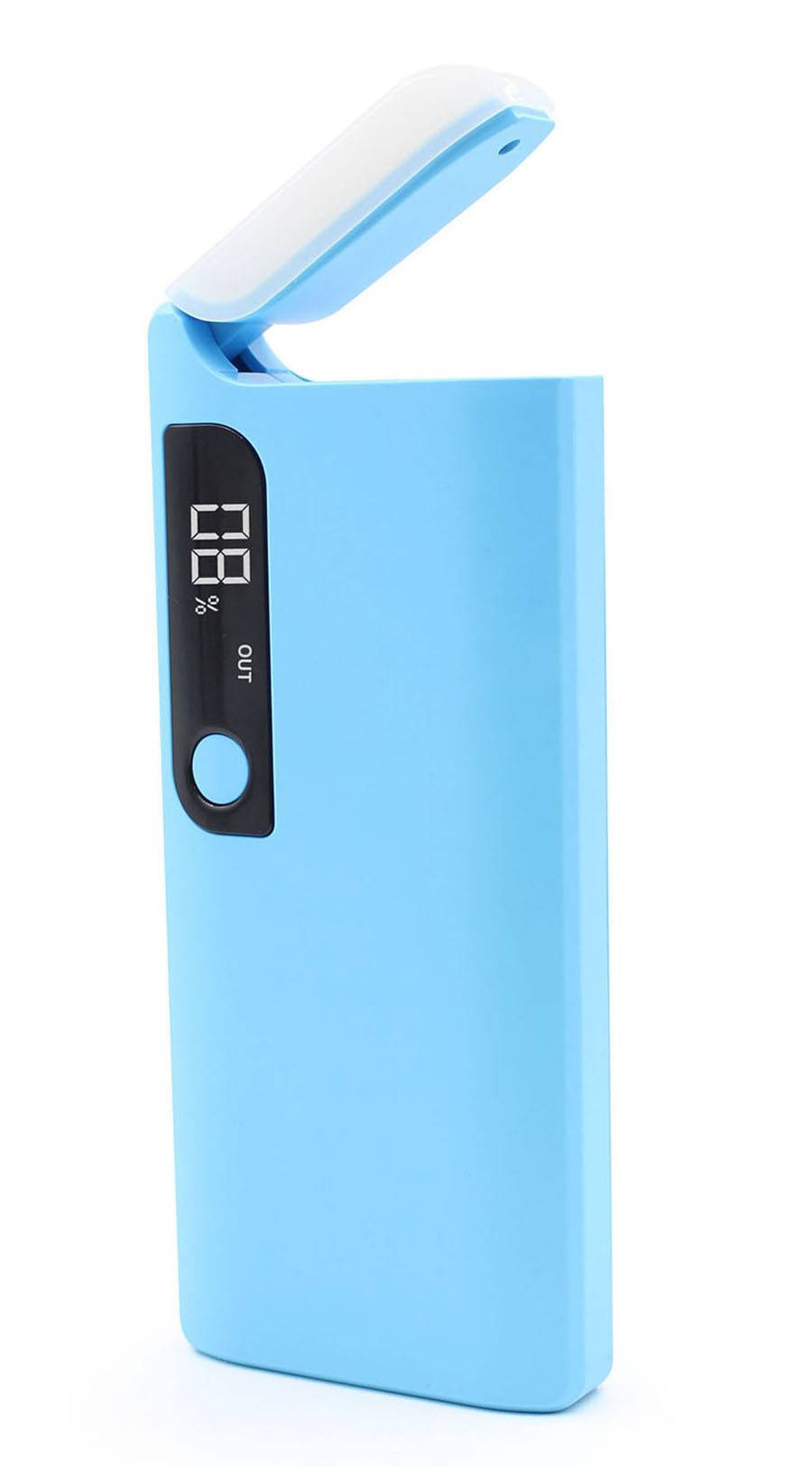 SJ-Y130DT  11000mAh  latest LCD dual USB high quality strong capacity potable power bank with LED