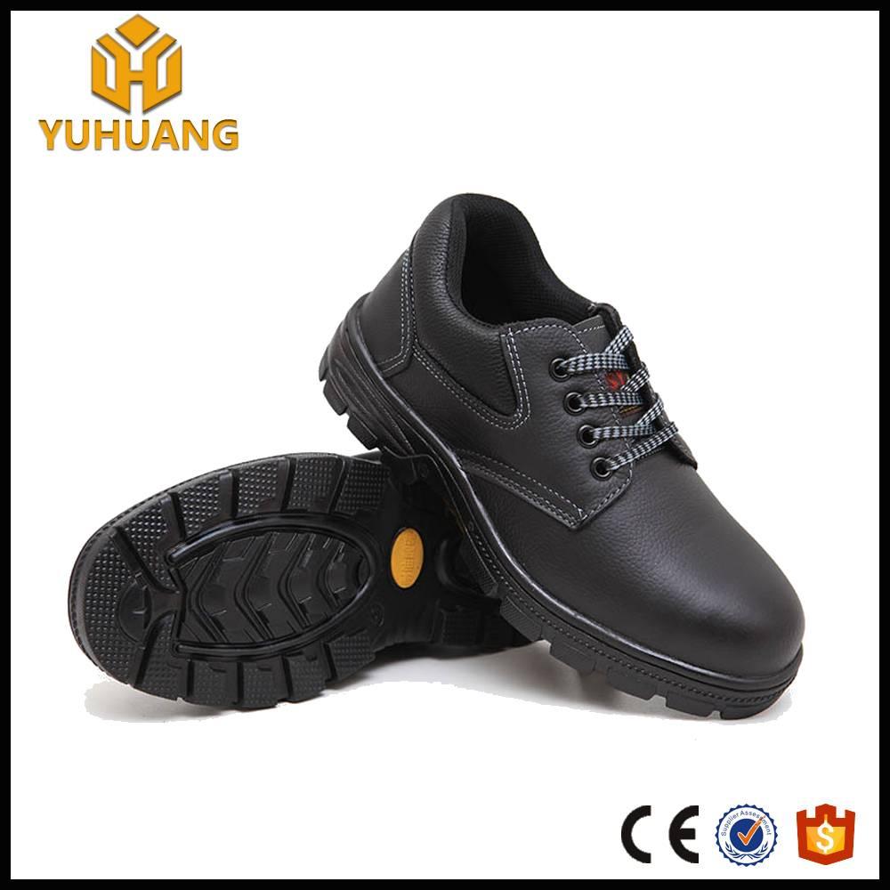 Comfortt Nubuck Leather hotel uniform iron steel safety shoes