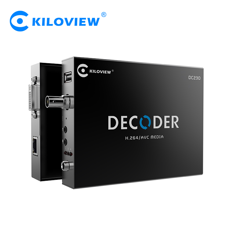 Kiloview Decoding IP Video Camera to HD SDI HDMI VGA Video Decoder