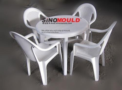 chair and table moulds