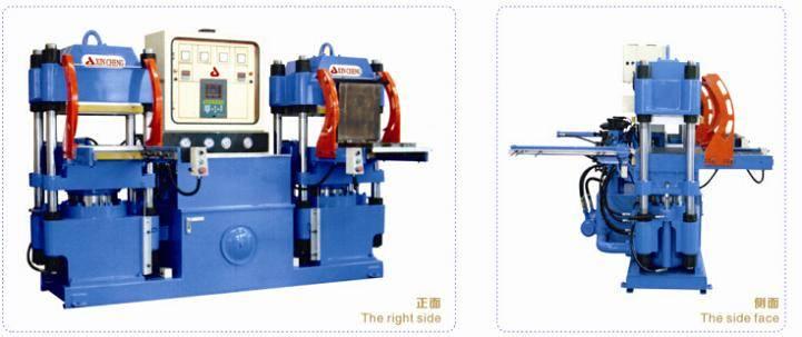 Rail Mold Open Hydraulic Molding Press Machine,Rubber Compression Molding Press Machine