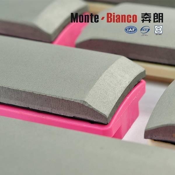 Metal bond diamond fickert Monte-bianco high quality diamond gringding fickert abrasive