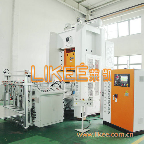 Disposable aluminum container making machine LK-T80
