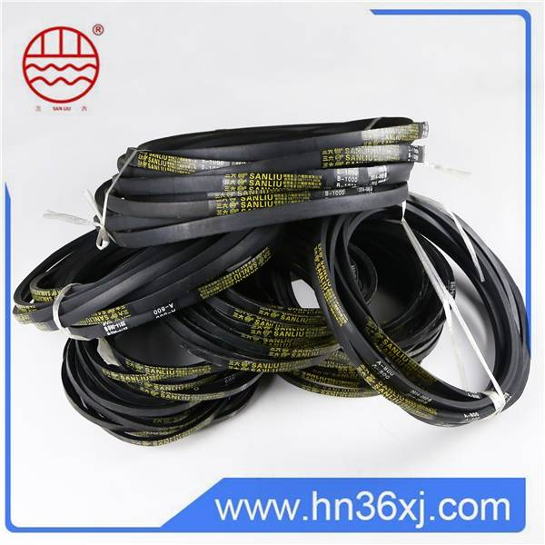 China Supplier Sanliu Large Stock Rubber V Belts