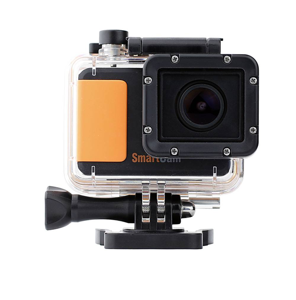 14MP Waterproof 1,080P Sports Camera with built in Wi-Fi