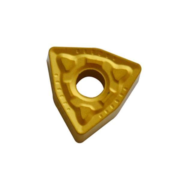 Cemented carbide NC blade Trigon with hole