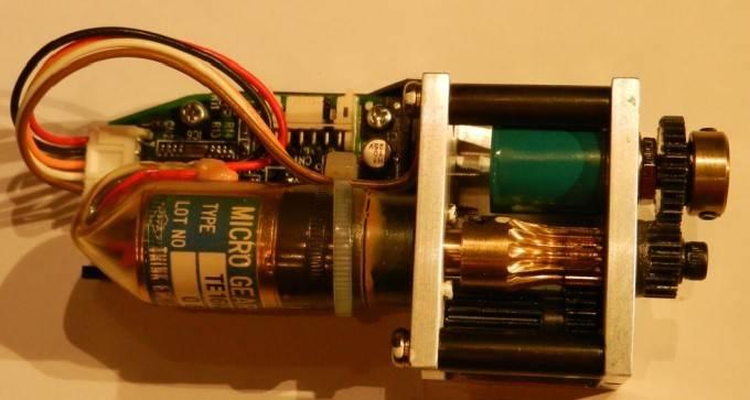 Micro geared motor  for Ryobi 524 HE (ink key motor )