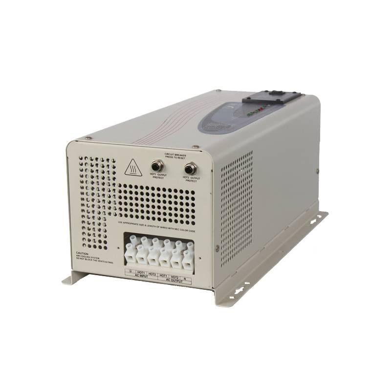 China Inverter 2000W 12V/24V/48V DC 110V/230V AC Pure Sine Wave Inverter Combined with Charger