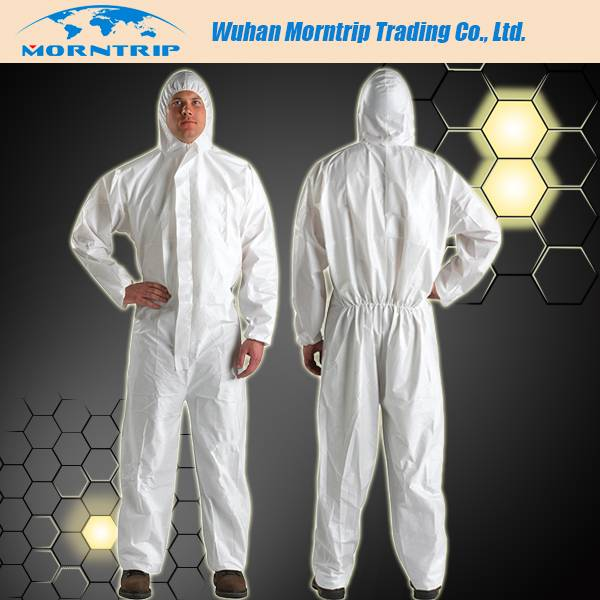 Disposable Nonwoven Protective Safety Coverall