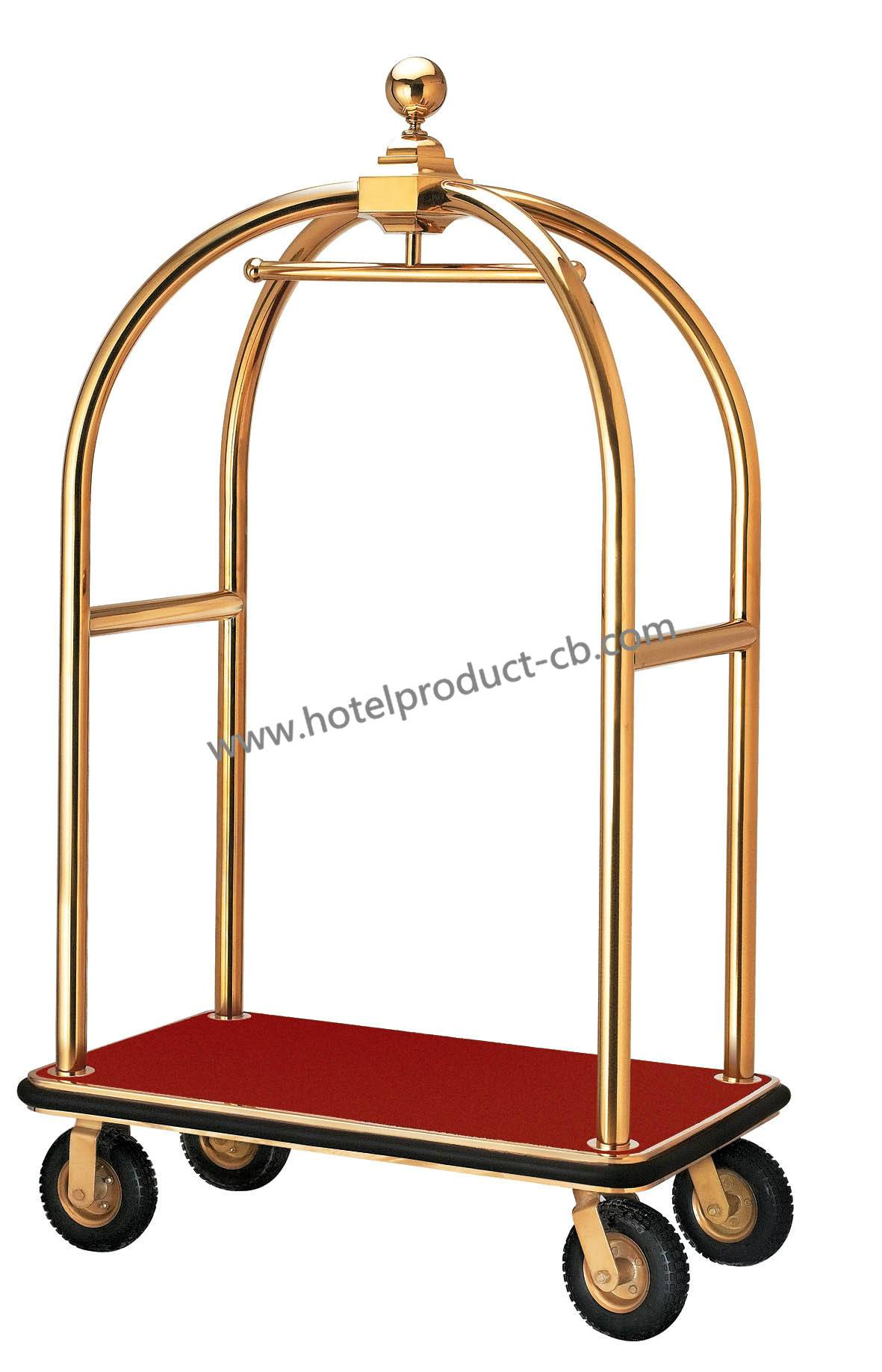 hot sell luggage cart with titanium plated