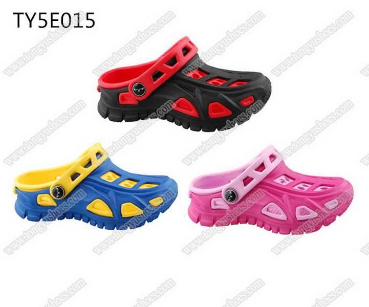 comfort wearing children fashion mule sport eva clogs shoes