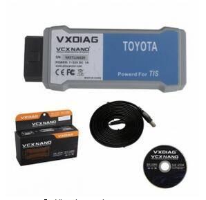 VXDIAG VCX NANO for TOYOTA TIS Techstream V10.10.018 WIFI Version