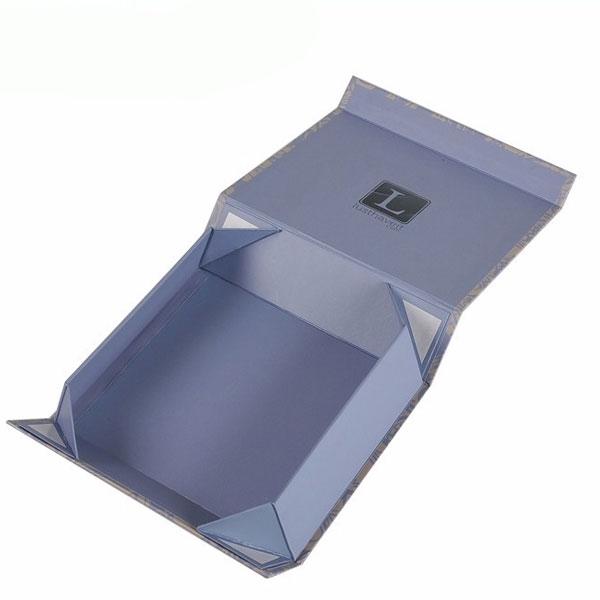 Custom magnet folding paper flat pack box