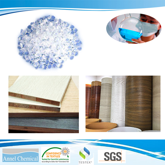 Polyurethane Hot Melt Adheisve\PUR for Woodworking Wood-based panels to Veneer, CPL, PVC