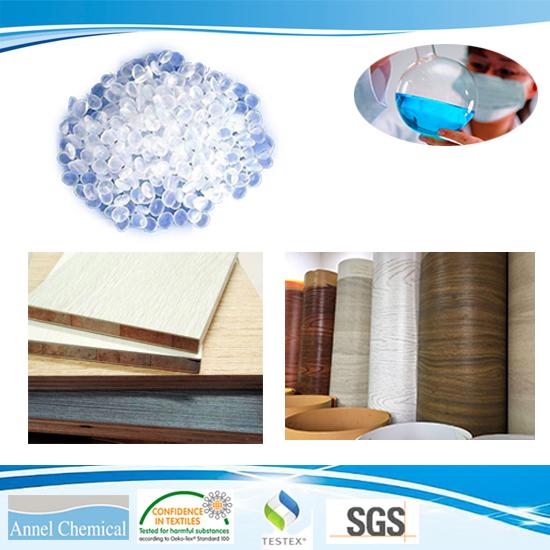 Polyurethane Hot Melt Adheisve\PUR for Woodworking Wood-based panels to Veneer, CPL, PVC
