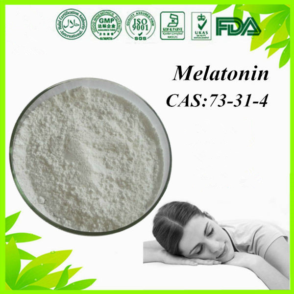 High Quality Pharmaceutical Chemicals Melatonin /Melatonine CAS: 73-31-4 for Nutritional Supplement