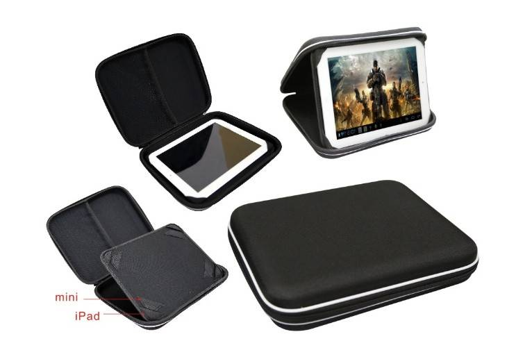 2014 new Smart Tech Case/waterproof tablet Case/tablet stand/protective case for mini/tablet holder/