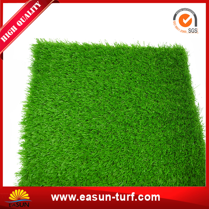Short green color artificial grass turf for roof landscaping-AL