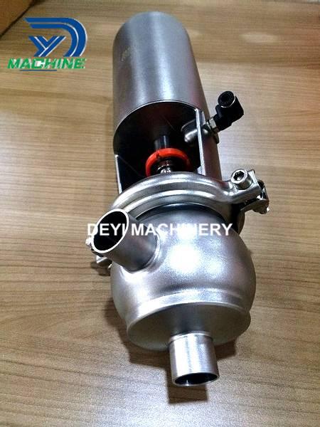 Sanitary Stainless Steel Pneumatic Divert Valve
