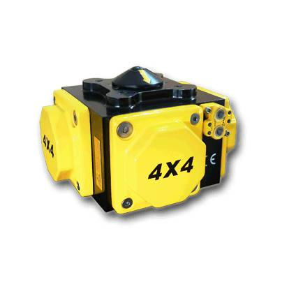 Four Piston Pneumatic Actuator (DFX040~DFX115)