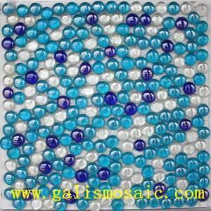 pebble glass mosaic