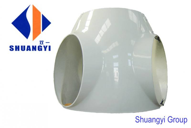FRP wind turbine nacelle cover (spinner, wheel hub and nose cover)