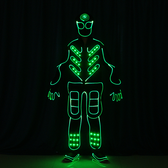 LED Tron Dance Costume