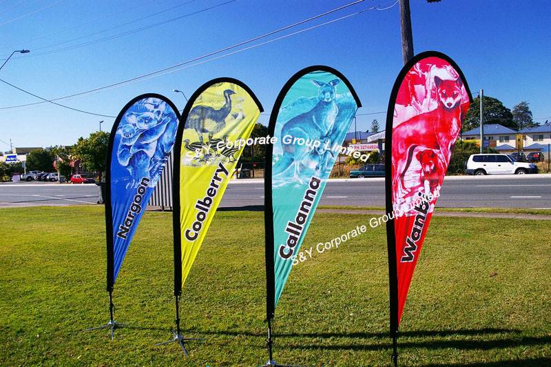 2014 hot sell cheap outdoor promotion flag