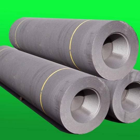 Hot sale high quality UHP graphite electrode with nipples