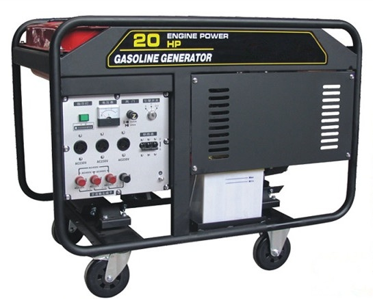 8.5KW Gasoline generator whith electric start and single phase Powered by 2V78 engines with high qua