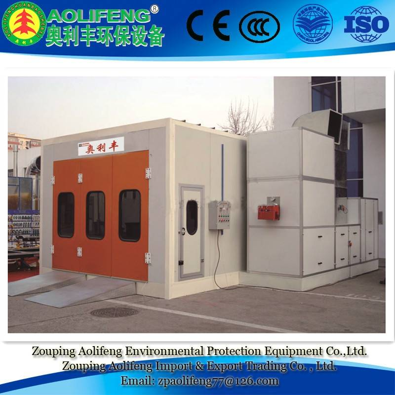 Luxury Infrared(Electric) Heating Paint Spray Booth