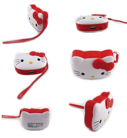 Hello Kitty Mini Mobile Power Bank
